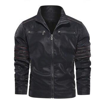Men's Leather Jacket  , Jacket Zipper  1