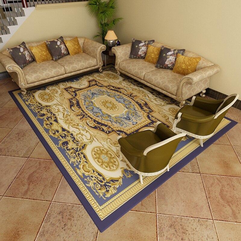 Nordique géométrique tapis salon chambre étude tête de lit rectangulaire tapis moderne décor maison tapis canapé Yoga 3D couverture tapis - 3