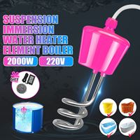 2000W Floating Electric Heater Boiler Water Heating Element Portable Immersion Suspension Bathroom Swimming Pool UK Plug