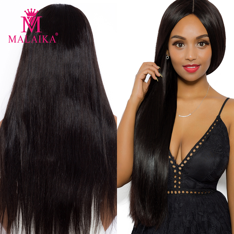 MALAIKA <font><b>10A</b></font> full <font><b>lace</b></font> human hair <font><b>wig</b></font> straight virgin 13x4 Swiss <font><b>lace</b></font> front human hair <font><b>wigs</b></font> with Brazilian hair image