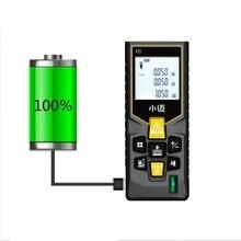 Mileseey, Мини цифровой лазерный дальномер, трена, лазерная рулетка, измеритель диастиметра, тестер, инструмент, 100м-80м-60м-40м, лазерный дальномер
