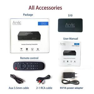 Image 5 - Arylic adaptador receptor de Audio S10, WiFi y Bluetooth 5,0, estéreo HiFi, con Spotify Airplay DLNA, Radio por Internet, multihabitación, aplicación gratuita