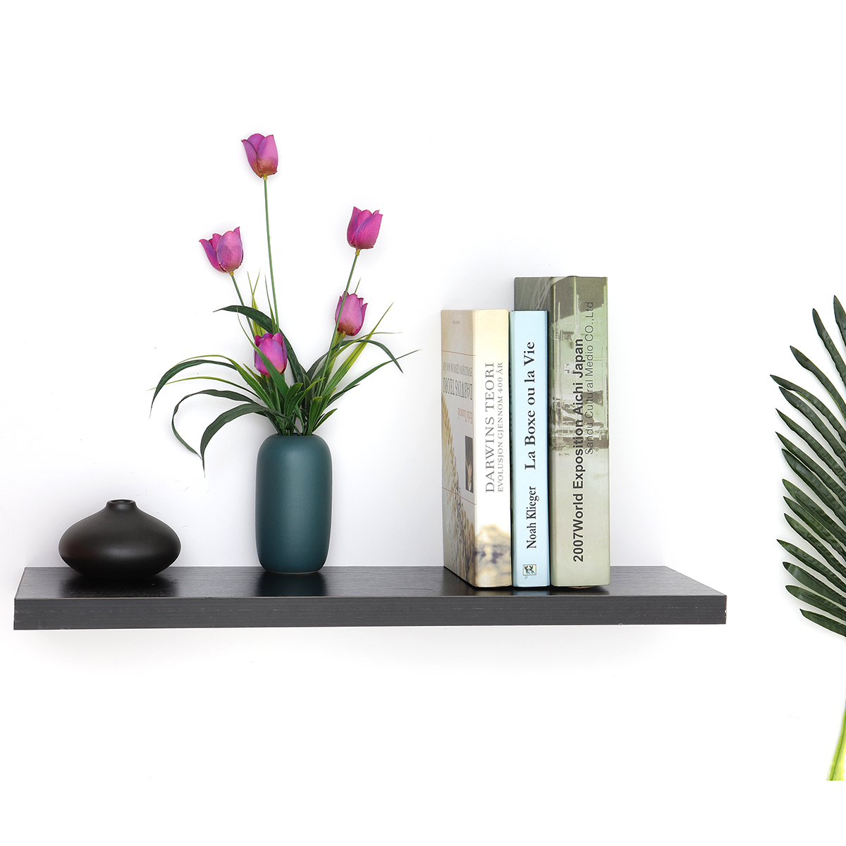 Rectangle Bookcases Shelf Solid Wood Storage Rack Wall-hung Decorative Book Shelves For Living Room Decor Sundries Organizer