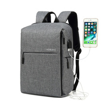 Waterproof Anti Theft Usb Backpack 2019  Business Large Capacity Backpack Men Women School Bag Travel Bagpack Student Bags ozuko brand pu leather men backpack simple design university student school bags black fallow travel bag anti theft men backpack