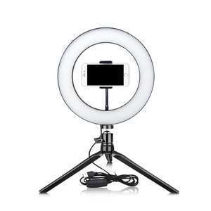 Ring-Light Tripod Light-Makeup Table-Lamp Blogger Dimmable Led Selfie Youtube Live-Fill