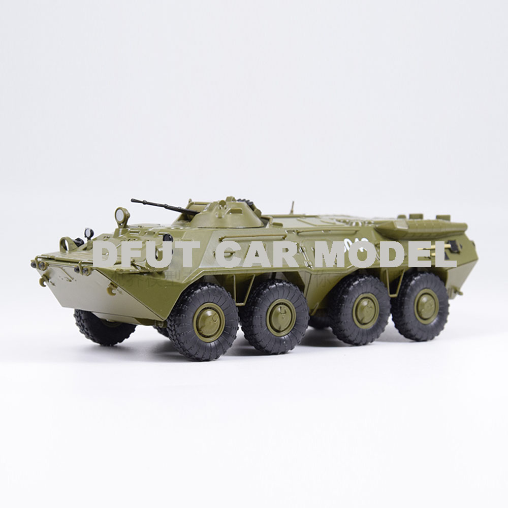 1:43 Alloy Toy Russia BTR-80 Truck Model Of Children's Toy Car Original Authorized Authentic Kids Toys
