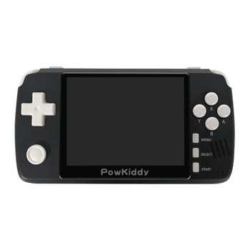 "Powkiddy Q80 Game Console Handheld 3.5"" IPS Screen Retro Classic Video Game Player"