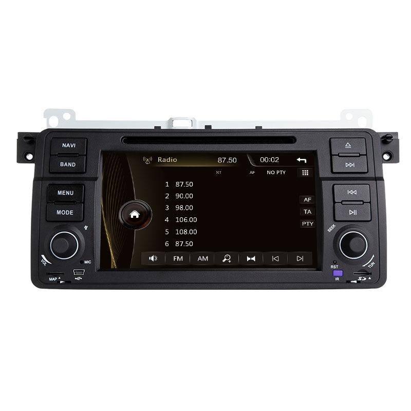 Xonrich1 Din Auto Radio Gps di Navigazione per Bmw E46 M3 Rover 75 Coupe 318/320/325/330 dvd Lettore Multimediale Unità di Testa Stereo Audio - 2