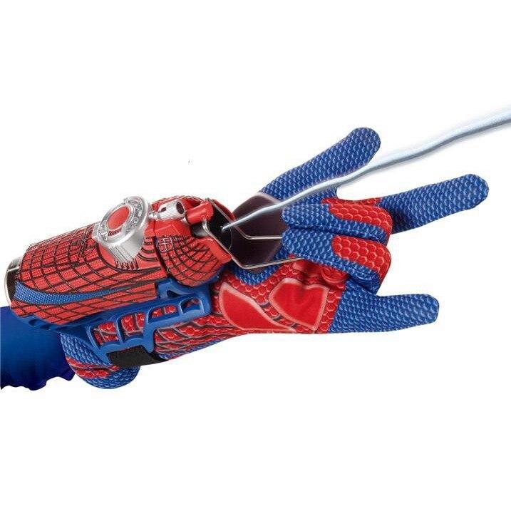 Gloves Water Spouting Spider Silk Extraordinary 2-in-1-Spinneret Spider-Man Hero Transmitter Film And Television CHILDREN'S Toy