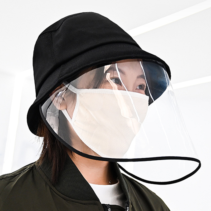 Anti-dust And Anti-fog Hat Anti Hat Anti-spitting Protective Hat Dustproof Cover Peaked Cap Hat Transmission Masque