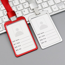 Card-Holders Id-Badge Business-Work-Card Work-Name Metal Aluminum-Alloy