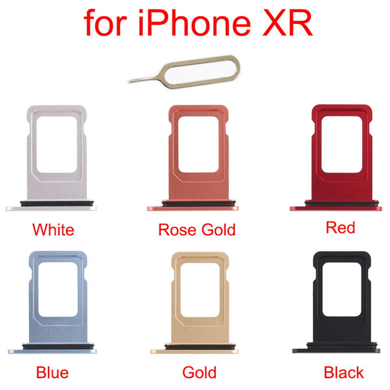 For Iphone XR SIM Card Holder Slot Tray Container Adapter Eject Tools Mobile Phone Accessories