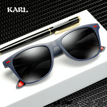 Polarized Sunglasses Women KARL Brand Design Men Drive Round Frame  Gafas De Sol UV400
