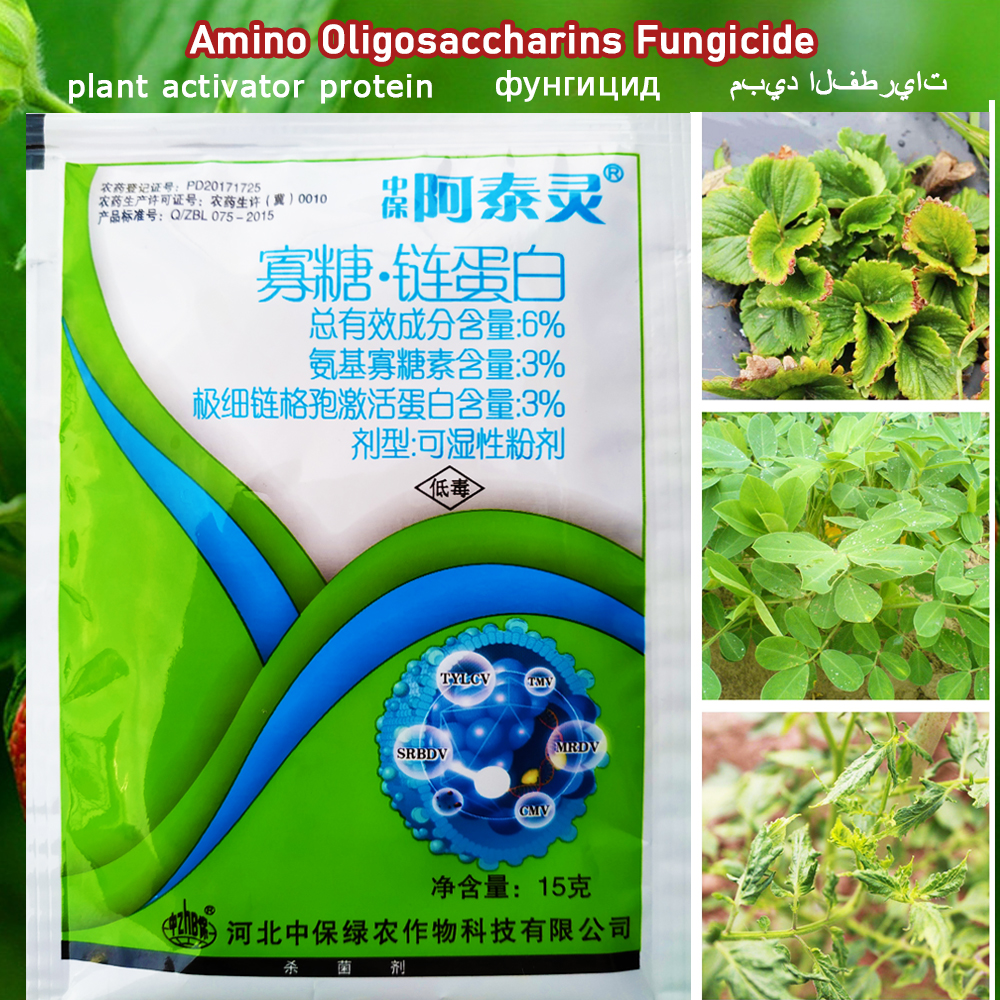 Fungicide Plant Activator Protein Amino Oligosaccharins Alternaria Nees Treatment Of Viral Disease Garden Growth Fertilizer