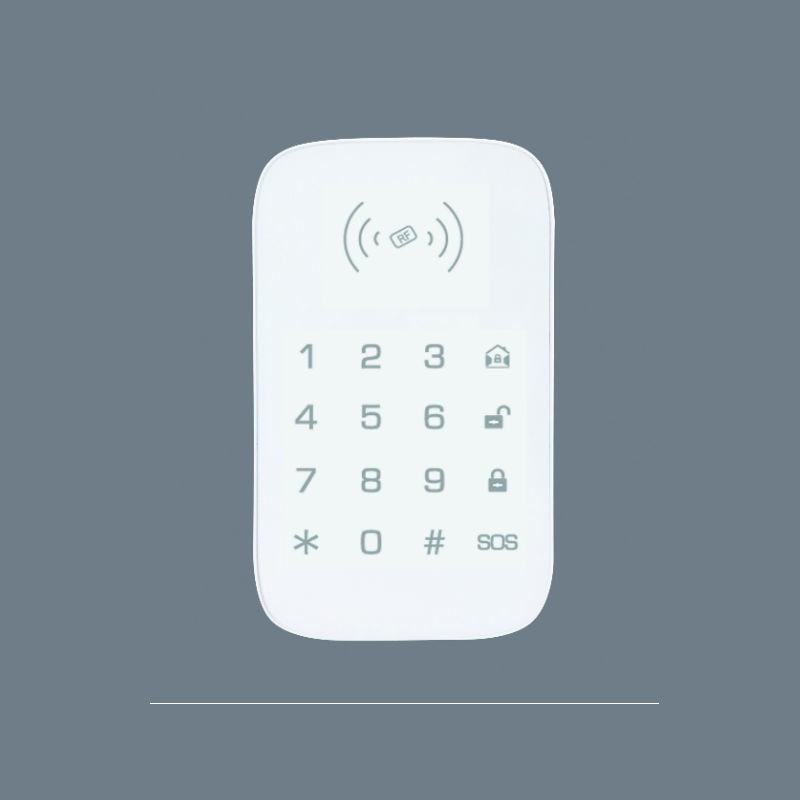 SmartYIBA 433MHz Wireless Alarm Keypad With 2pcs RFID tag Touch RFID keypad for Smart Home WIFI GSM Alarm Password Keyboard