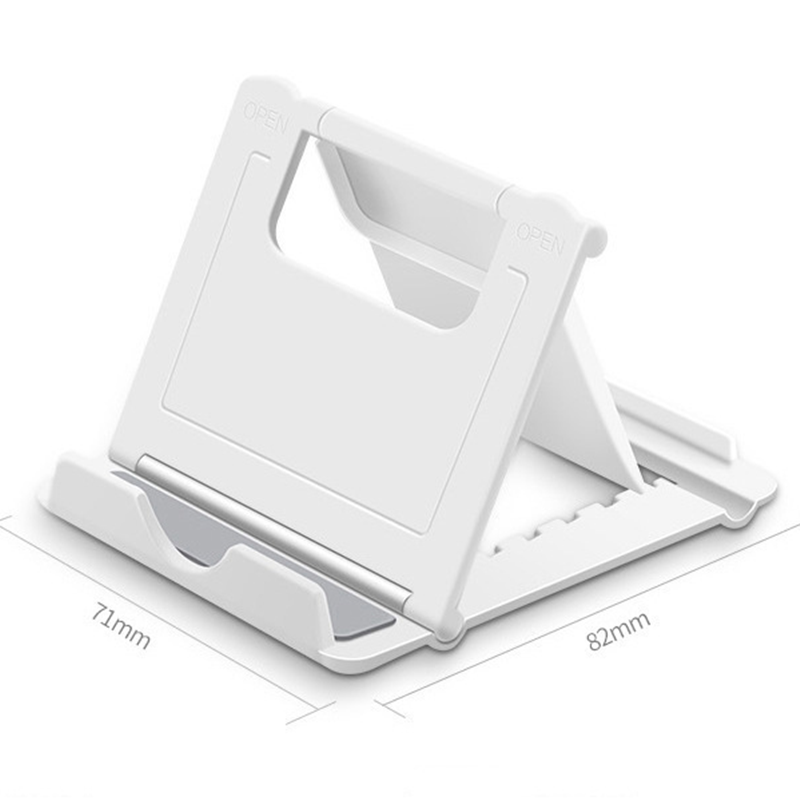 Universal Folding Table Cell Phone Support Plastic Holder Desktop Stand For Your Phone Smartphone Tablet Support Phone Holder