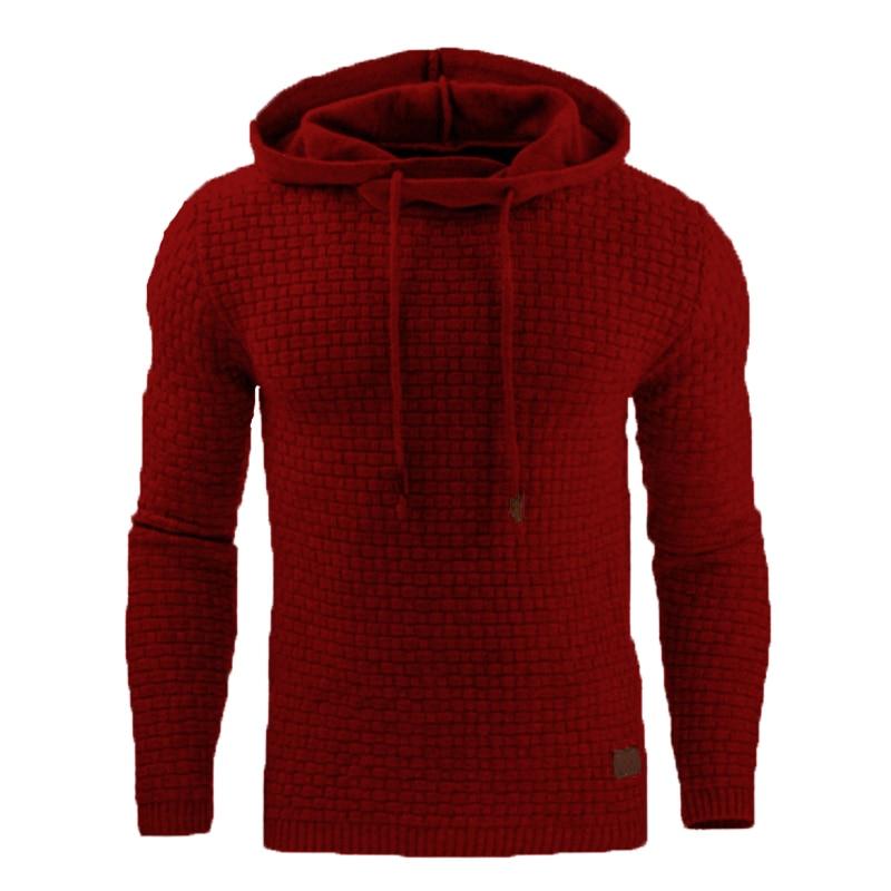 Winter Hoodies Men 2019 Brand Male Long Sleeve Solid Sweatshirt Hip Hop Pullover Plus Size Men's Hoodies And Sweatshirts 1451