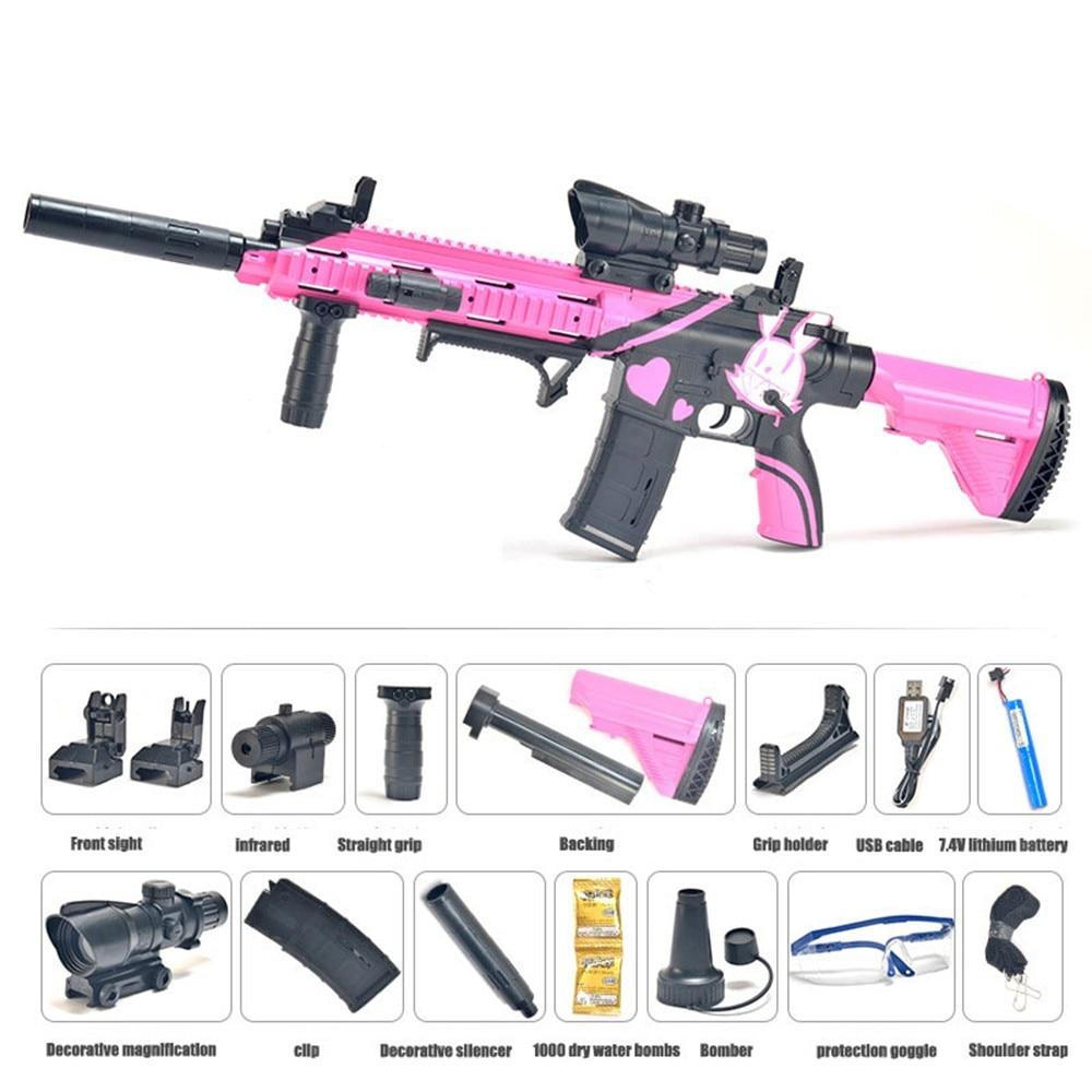 Free Switching Water Bullet Gun M416 Infrared Water Darts Gun Toy Boys Sniper Rifle Outdoor Shooting Toys 1706379 5