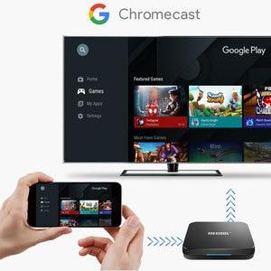 Image 5 - MECOOL KM9 Pro Android 9.0 Amlogic S905X2 TV BOX Voice Control 4K Streaming 4GB DDR4 32GB Media Player HD 2.4G/5G Smart TV BOX