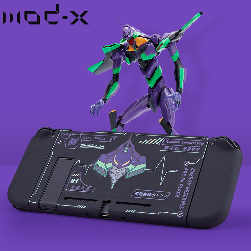 Mod-X Design Evangelion For Nintendo Switch Back Case Cover Nintendoswitch Nintend Switch NS Case Joy Con Cover Shell Accessory