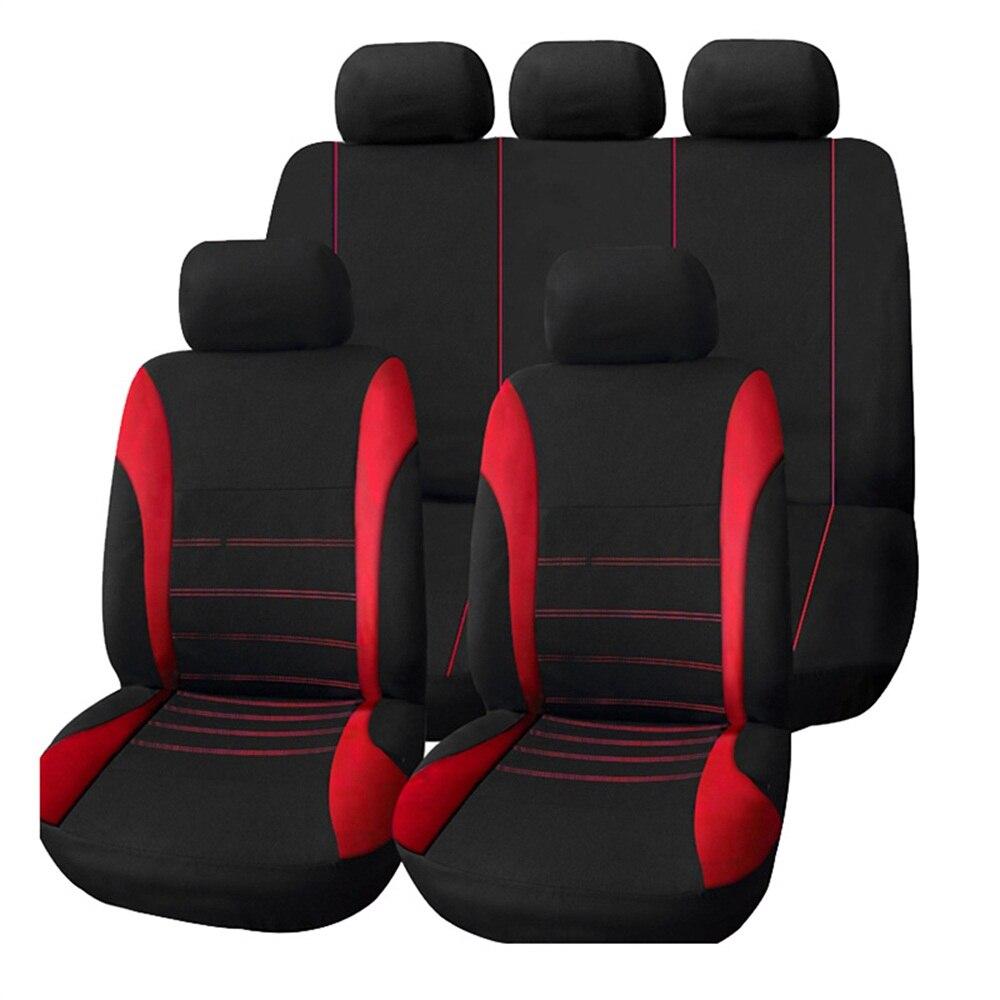 Full Coverage flax fiber car seat cover auto seats covers for suzuki alto baleno grand vitara liana sx4