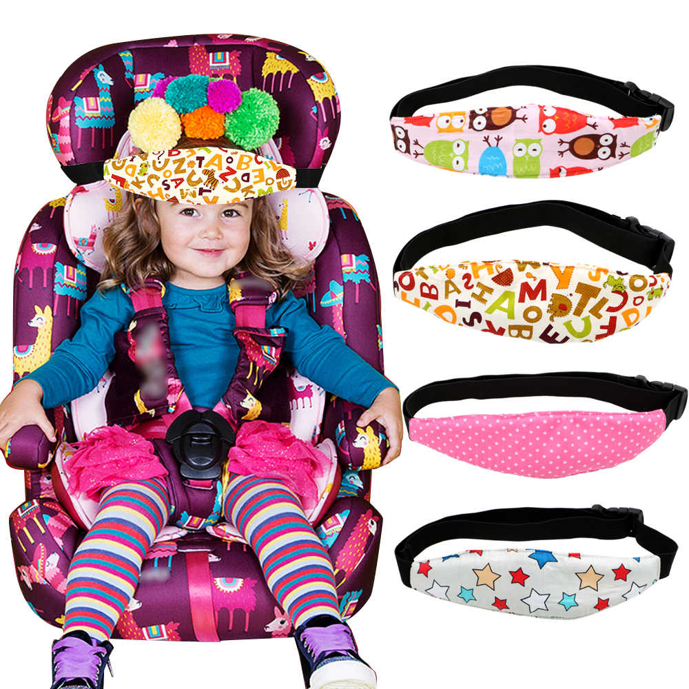 LEEPEE Car Safety Children Fixing Band Car Seat Sleep Nap Kid Sleeping Head Support Belt Positioner Baby Sroller Holder Belt