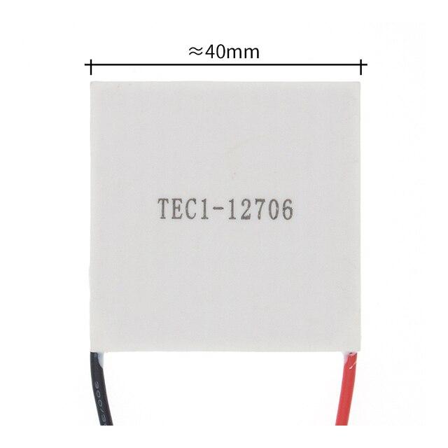 10 Stuks Nieuwe De Goedkoopste Prijs TEC1 12706 12V 6A Tec Thermo elektrische Koeler Peltier (TEC1 12706)