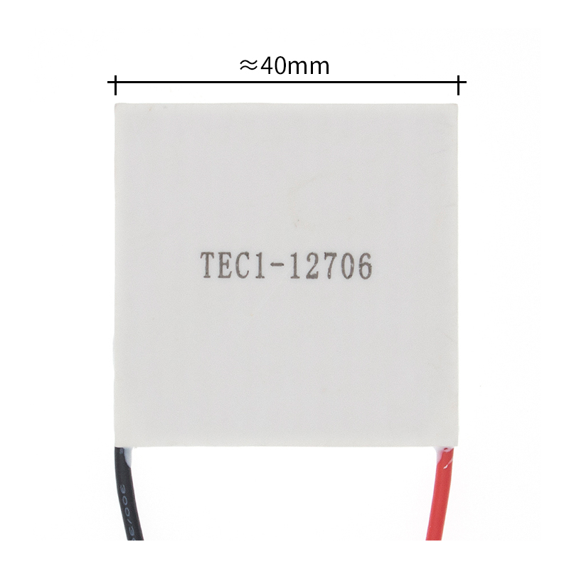 10pcs New the cheapest price TEC1 12706 12v 6A TEC Thermoelectric Cooler Peltier (TEC1 12706)-in Integrated Circuits from Electronic Components & Supplies