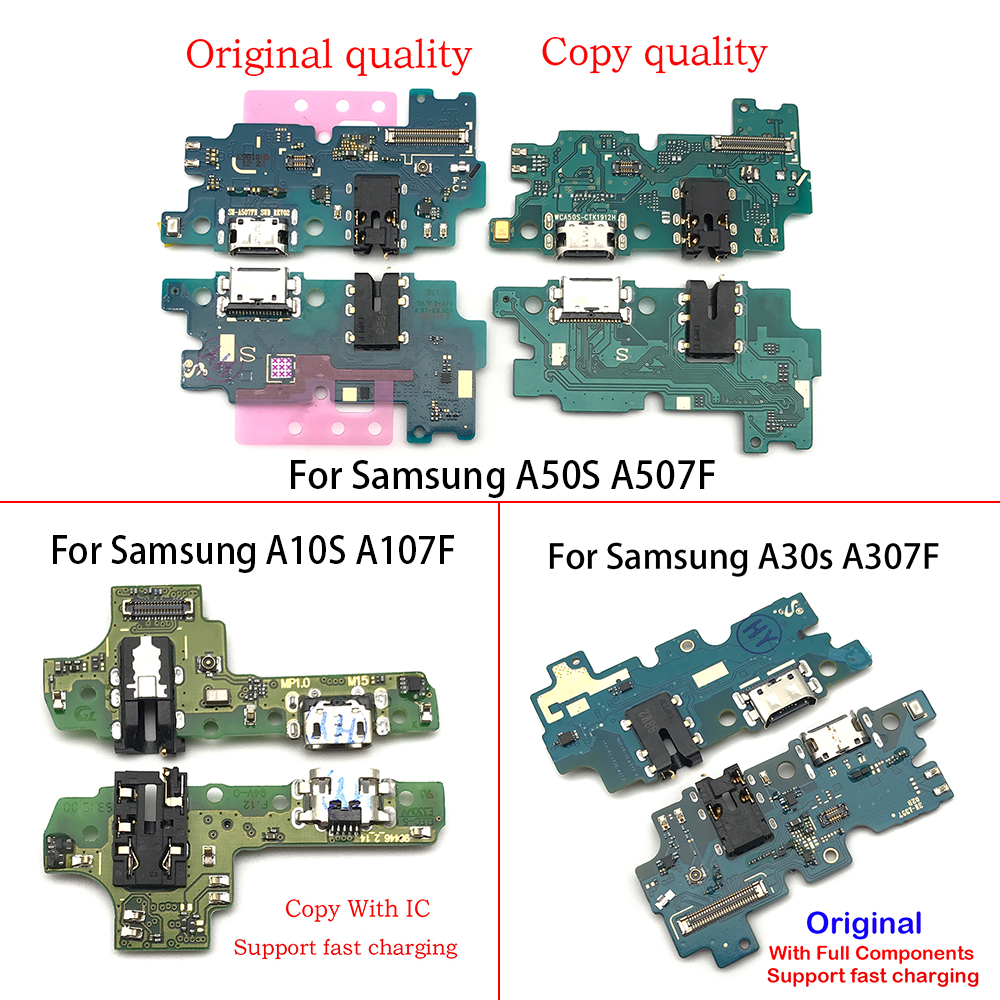 Dock Connector Micro USB Charger Charging Port Flex Cable Board For Samsung A10S A20S A30S A50S A107 A207 A307 A507
