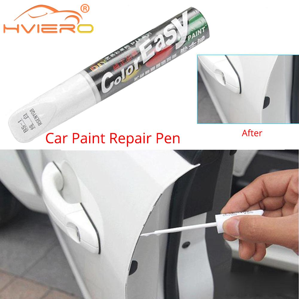 4Colors Universal Waterproof Car Scratch Repair Remover Pen Auto Paint Care Tool Car Styling Car Paint Repair Pens Care Tools