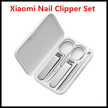 Xiaomi Mijia Stainless Steel Nail Clippers Set (2019 Version Optional) Trimmer Pedicure Care Clippers Earpick Nail File