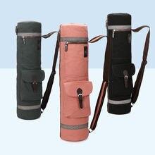 Экологичный тканевый Коврик для йоги сумка переноска Женский