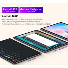 Teclast M40 10.1'' Tablet 1920x1200 IPS 6GB RAM 128GB ROM 4G Network Dual SIM Octa Core Tablets PC Android 10 Dual Wifi Type-C
