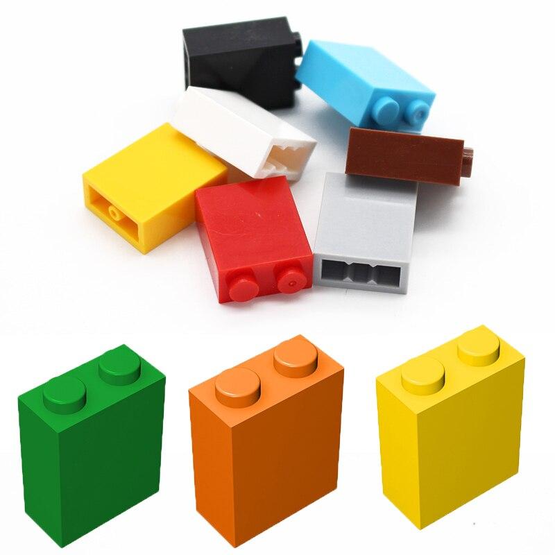 Конструктор игрушечный MOC, детали для сборки, 1x2x2, развивающий креативный подарок, детские игрушки, 10/20/50 шт.