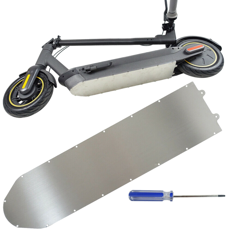 Electric Scooter Chassis Aluminum Protection Metal Guard Plate Armor Battery Bottom Cover for Ninebot Max G30