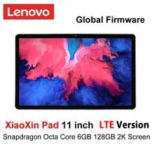 Tela lcd de 11 polegadas lte verison 2k snapdragon octa núcleo 6gb ram 128gb rom tablet android 10