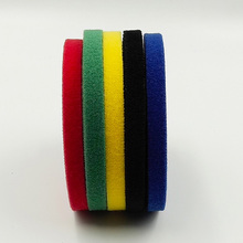 1cm*1M Hook and Loop No Adhesive Fastener Tape Nylon Button Sewing Garment Bags Accessories DIY Magic Without Glue