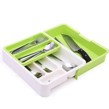 Plastic Kitchen Organizer Knife Fork Spoon Storage