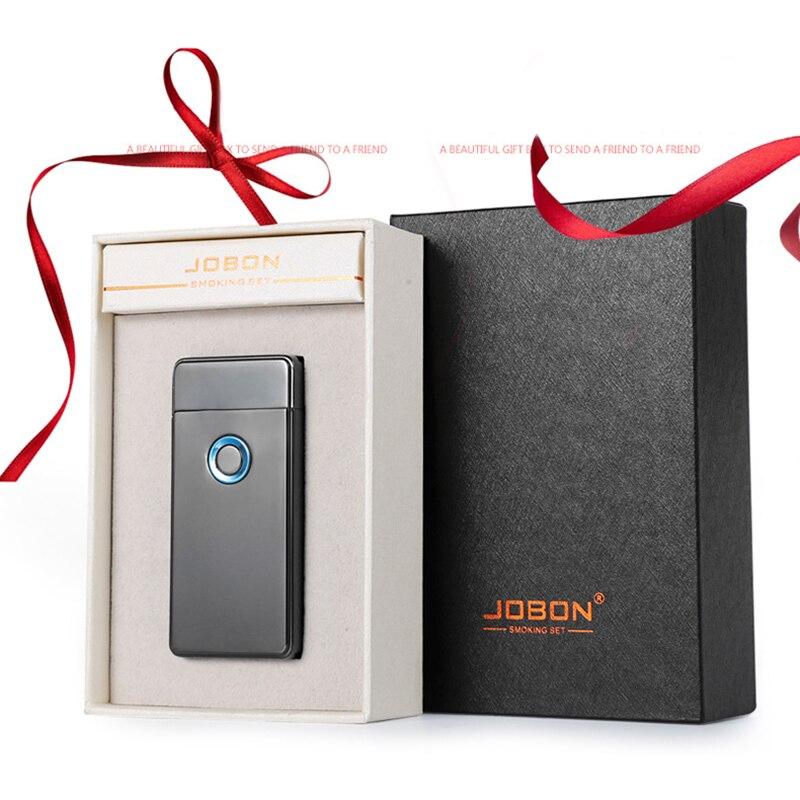 Двойной для Плазменно дуговой зажигалки USB Перезаряжаемый ветрозащитный негорящий Электрический Зажигалка для сигар свечи сигарет 10 шт./па... - 3