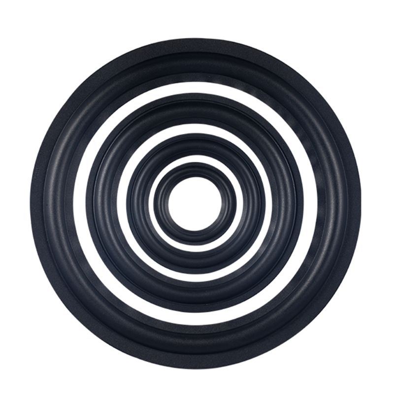 Speaker Surround Repair Foam Woofer Edge Elastic Rubber Ring 3/4/5/6.5/10/12Inch