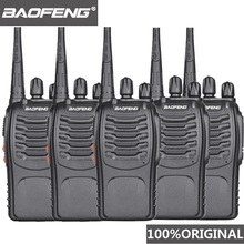 5Pcs Baofeng BF 888s Walkie Talkie UHF Handy Talky BF 888S 5W Wolki Tolki 888 CBวิทยุComunicador PTT Walkie Talkie Transceiver