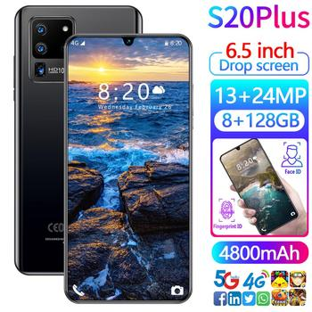 Galay S20Plus Smartphone 6.5inch 8GB RAM 128GB ROM Snapdragon 855 Android Cellphone Dual SIM Mobile Phone Cell Smart Phones
