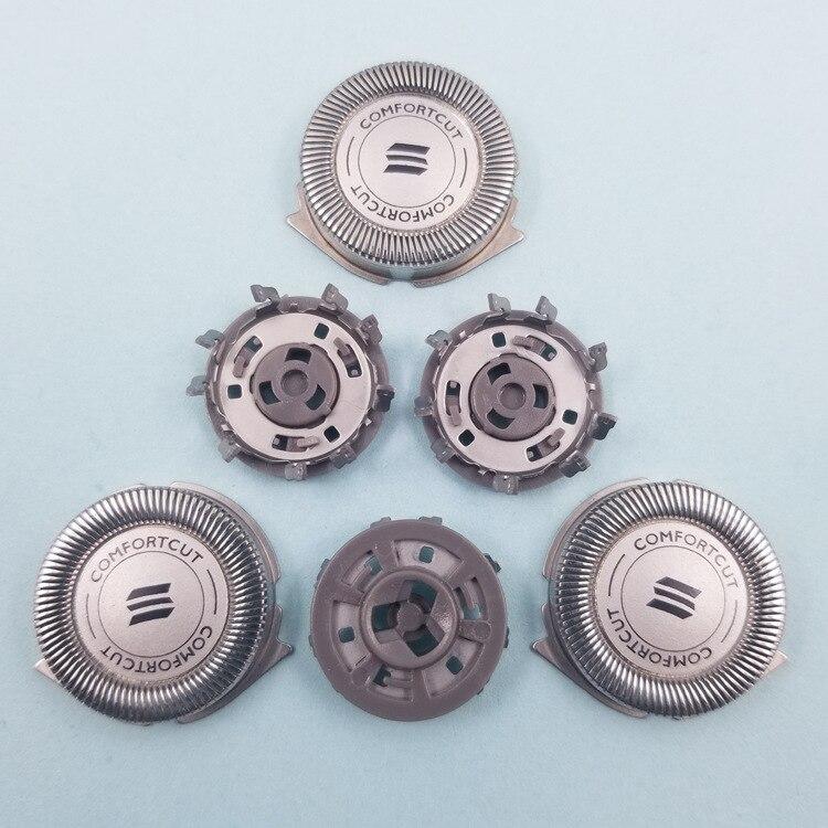 3 шт. Сменные бритвенные головки из нержавеющей стали для Philips Norelco 3000 Series 1000 700 SH30 / 52 оригинальная Сменная головка
