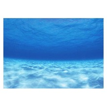 Paper-Sticker Aquarium Background Backdrop-Decoration PVC Self-Adhesive-Poster Ocean-Style