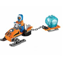 цена на 50pcs Bela 10437 City Polar Adventure Arctic Snowmobile Figure Blocks Christmas Gift Building Bricks Toys For Children