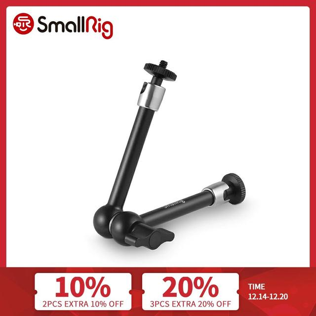 SmallRig DSLR Camera Rig 9.5 inch Articulating Magic Arm Adjustable Monitor Viewfinder Support with 1/4 screw 2066