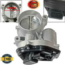 Корпус дроссельной заслонки AP03 4F9U9E928AC 1556736 60 мм для Ford Focus MK 2 Fiesta V MK 4 Mondeo