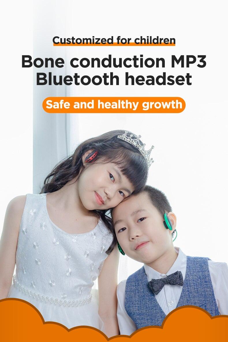 Aotum crianças fones de ouvido sem fio