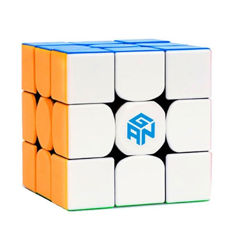 GAN 354M 3x3x3 aimant magnétique 54mm concours professionnel Multi couleur Cube magique Ultra-lisse 3x3 vitesse Puzzle Cube enfant jouet cadeau
