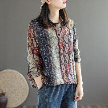 chemise ethnique ancienne chic boheme